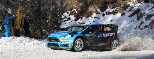 Mads Ostberg, Ola Flone (Ford Fiesta WRC , M-Sport World Rally Team)